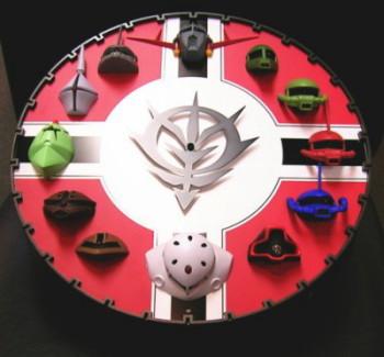ガンダム3D時計